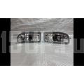 Противотуманные хромированные фары со светодиодной подсветкой DRL на Toyota Land Cruiser 100