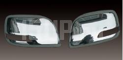 Хромированные накладки на боковые зеркала Toyota Land Cruiser Prado 150