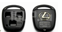 Корпус ключа зажигания с логотипом Lexus