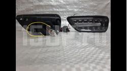 Тонированные светодиодные стопсигналы заднего бампера Nissan Patrol Y62