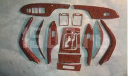 Накладки панелей салона Toyota Corolla