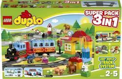 LEGO Duplo 66494 Поезд Дупло (10506 + 10507 + 10522)