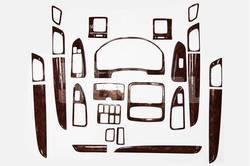 Отделка салона под дерево Toyota Land Cruiser Prado 120