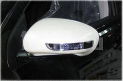 Корпуса боковых зеркал под покраску со светодиодными поворотниками на Nissan Qashqai