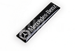 Наклейка Mercedes Benz с логотипом на панель салона