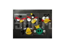 Наклейка на кузов Angry Birds
