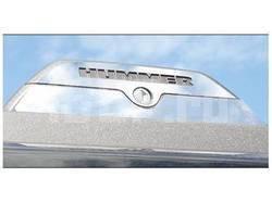 Комплект накладок из нержавеющей стали на замки багажника крыши на Hummer H3