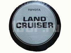 Чехол запасного колеса для Toyota Land Cruiser 80, 100, 200, Prado, размер 15, 16, 17 дюймов