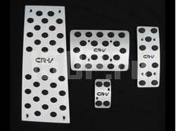 Алюминиевые накладки на педали, подставку под ногу, с логотипом CR‐V на Honda CR‐V
