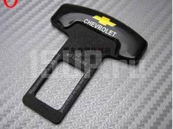 Вставка в замок ремня безопасности с логотипом Chevrolet, лакированная