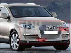 Передние решетки, полированный алюминий, полный комплект на Audi Q7