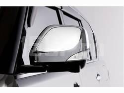 Хромированные корпуса на боковые зеркала на Nissan Patrol Y62, Infiniti QX56