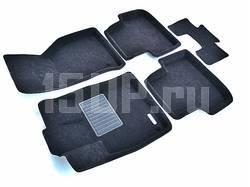 Коврики салона текст. 3D euro-std SKODA Octavia A7 (2013-)/VW Golf 7 (2013-)/ AUDI A3 (2013-)