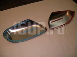 Toyota Land Cruiser Prado 150 (09-) накладки на боковые зеркала из нержавеющей стали