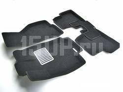 Коврики салона текст. 3D euro-std BMW X1 (E84) (2009-) / 3 (E90) (2007-2010) (EM3D) Original
