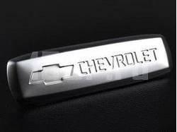 Эмблема Chevrolet из полированного алюминия для ковриков салона