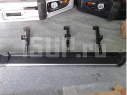 Подножки боковые алюминиевые на Honda CR-V