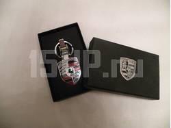 Брелок для ключей Porsche серебристый