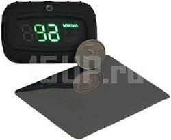 Проекционная система показаний спидометра в km/h на лобовое стекло
