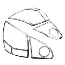 Рамки задних фонарей на Nissan Qashqai