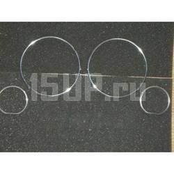 Хромированные кольца рамки шкалы приборов BMW 7 E32