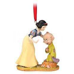 Disney Елочная игрушка Белоснежка