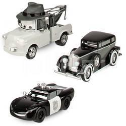 Disney Cars Набор черно-белых тачек