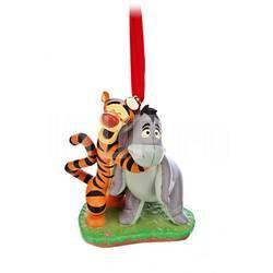 Елочная игрушка Disney Тигруля с осликом Иа