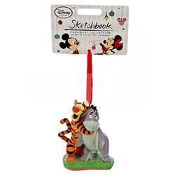 Елочная игрушка Тигруля с осликом Иа Disney