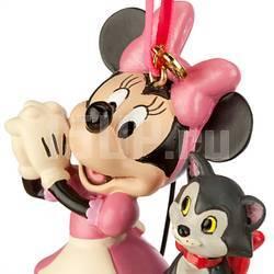 Елочная игрушка Disney Минни с котиком