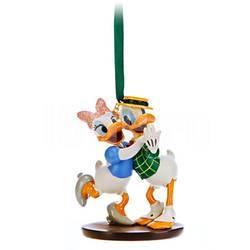 Елочная игрушка Доннальд Дак и Дейзи Disney