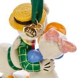 Елочная игрушка Disney Доннальд Дак и Дейзи