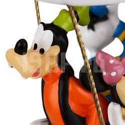 Елочная игрушка Disney Микки, Минни, Гуффи и Доннальд Дак на воздушном шаре Микки Маус Клуба