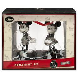 Набор елочных игрушек Disney Микки и Минни Маус ретро