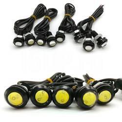 Сверхяркие светодиодные лампы, черный корпус с резьбой