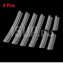 Защитные прозрачные накладки на кромки боковых дверей автомобиля