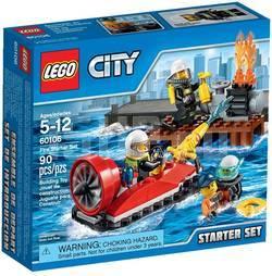 """LEGO City 60106 Набор для начинающих """"Пожарная охрана"""""""
