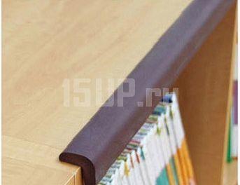 Обезопасить углы на мебели своими руками